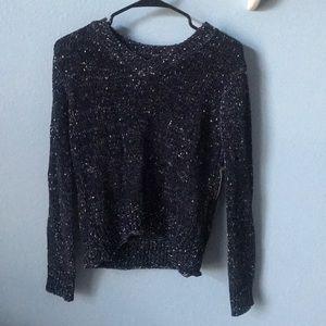 Sweaters - navy sweater